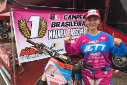 Maiara Basso é destaque do Team Rinaldi