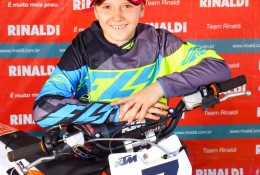 Rafa Becker é bicampeão na 65cc